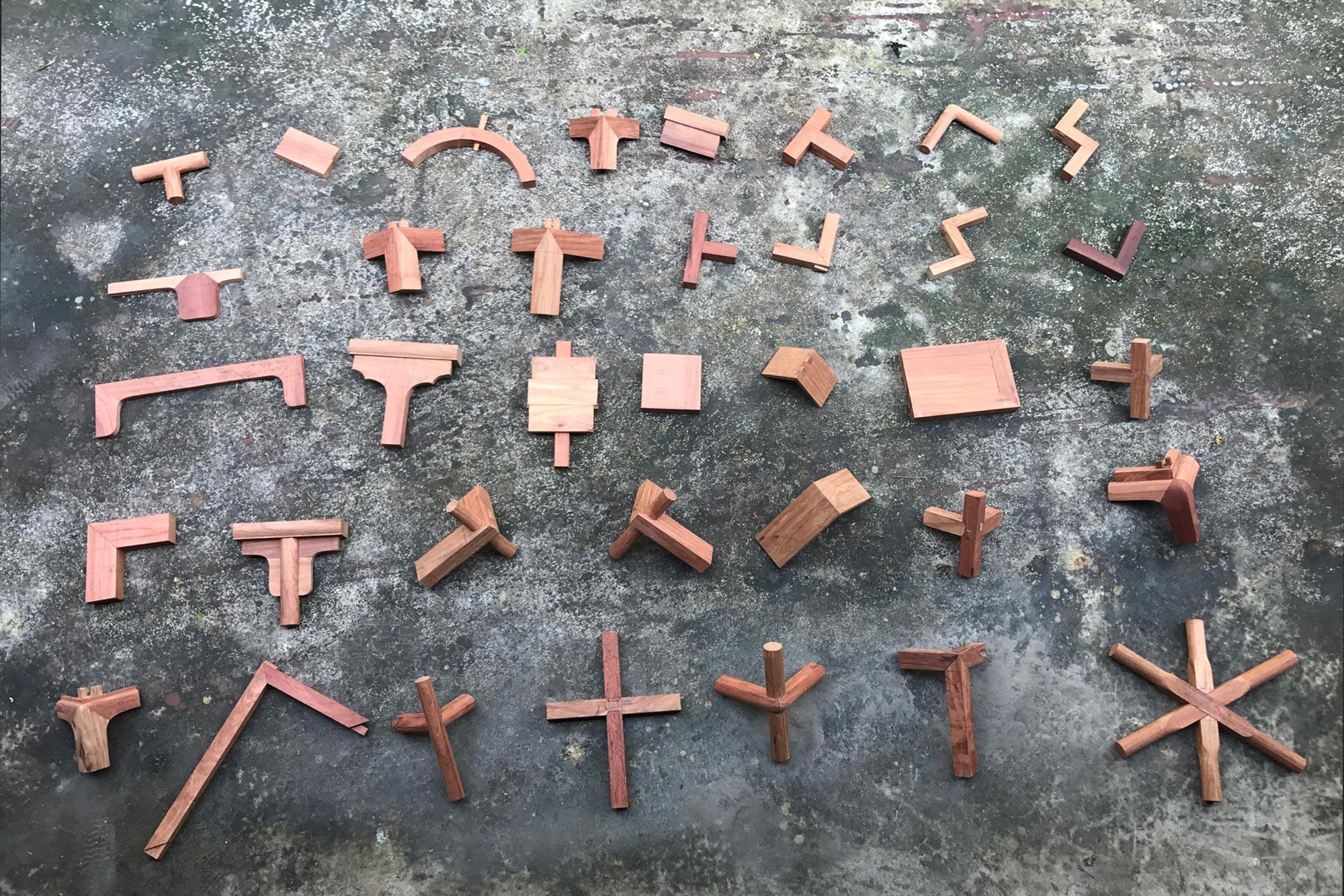 传统家具的36种基本榫卯结构